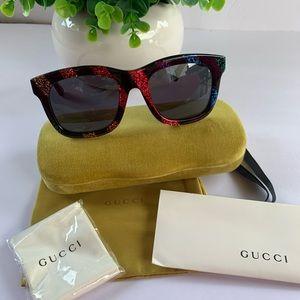 NWT/ GUCCI 56mm Square Sunglasses